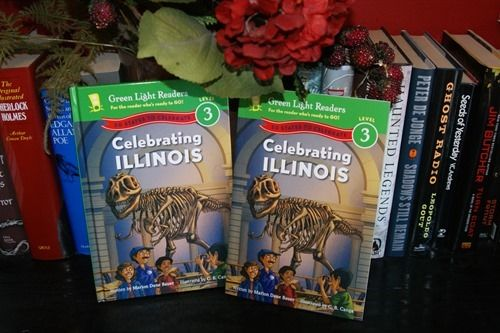 I was sent a copy of Celebrating Illinois: 50 States to Celebrate (Green Light Readers Level 3) by Marion Dane Bauer Celebrating Illinois: 50 States to Celebrate (Green Light Readers Level 3) by Marion Dane Bauer Release Date: 2014-06-10 Say hello to Mr. Geo, everybody's favorite geography teacher! He …Share this: