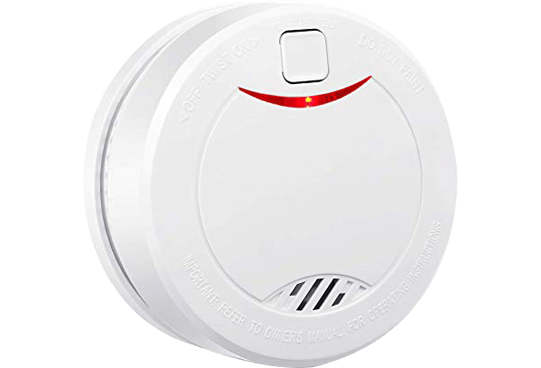 Smoke Alarm With 10 Year Battery Life Vds En14604 And Ce Certified Smoke Detector With Intelligent Fire Alar Photoelectric Sensor Smoke Detector Smoke Alarms