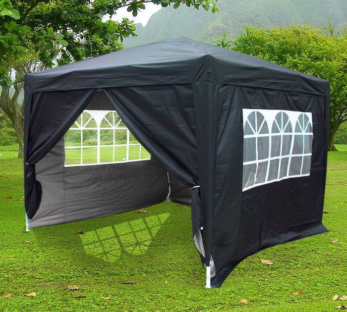10u0027 x 10u0027 Fully Enclosed Pop Up Party Tent Gazebo Canopy  & 10u0027 x 10u0027 Fully Enclosed Pop Up Party Tent Gazebo Canopy ...