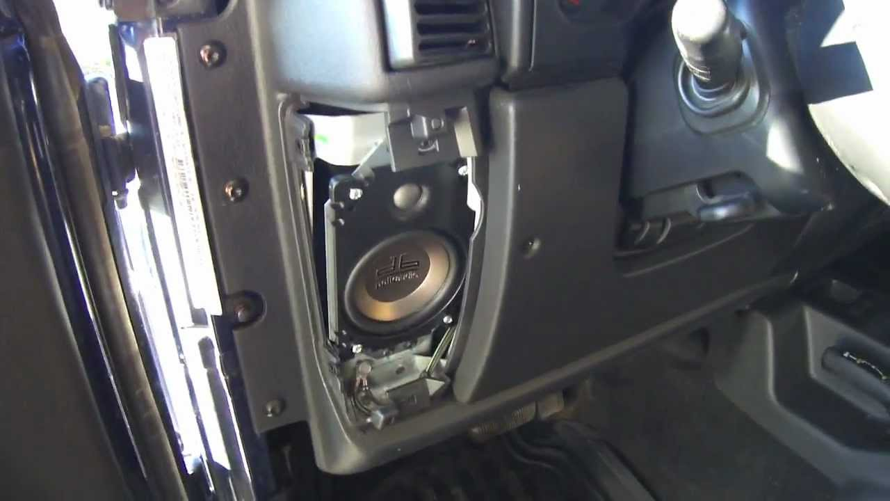 Diy How To Install Speakers In A Jeep Madison Grace S Favorite Jeep Related Pins Jeep Tj Jeep Jeep Wrangler Tj