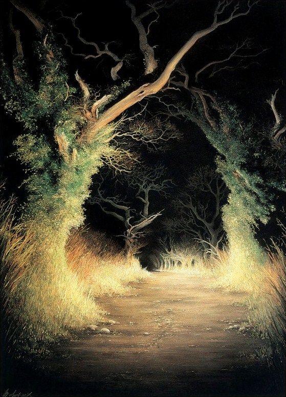 Earth Light Trees
