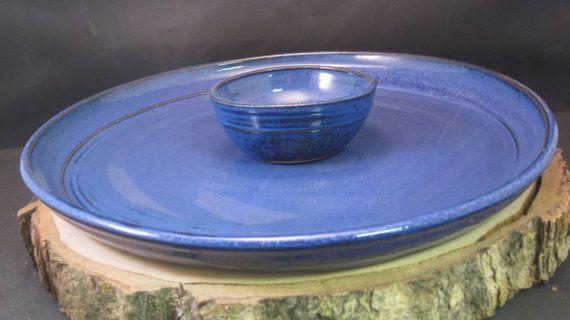 Handmade Ceramic Serving Platter Tapas or Sushi by alisonryczek