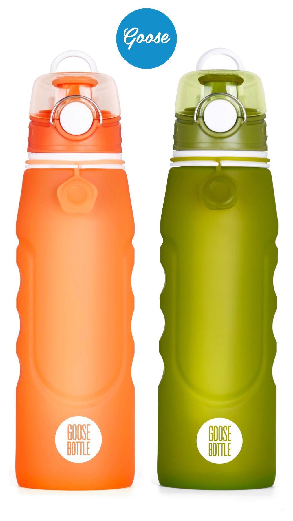 Goose Bottle Faltbare Trinkflasche mit Filter - 1000ml