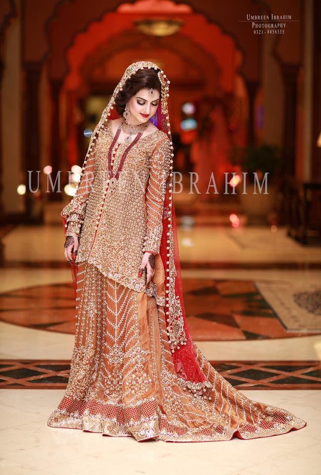 9cc51120cfe Latest Pakistani Designer Bridal Wedding Dresses 2017-2018 ...