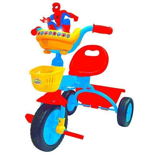 Kiddieland Foldable Trike Spider Man By Spider Man 98