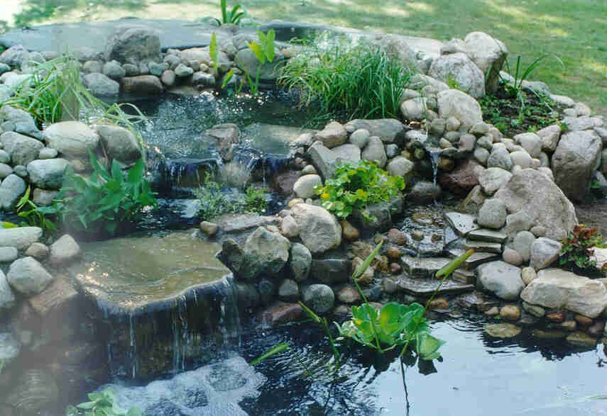 Skippy 39 s koi pond page instructions on how to make a for Garden pond building instructions