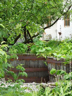 Hochbeet im Bauerngarten