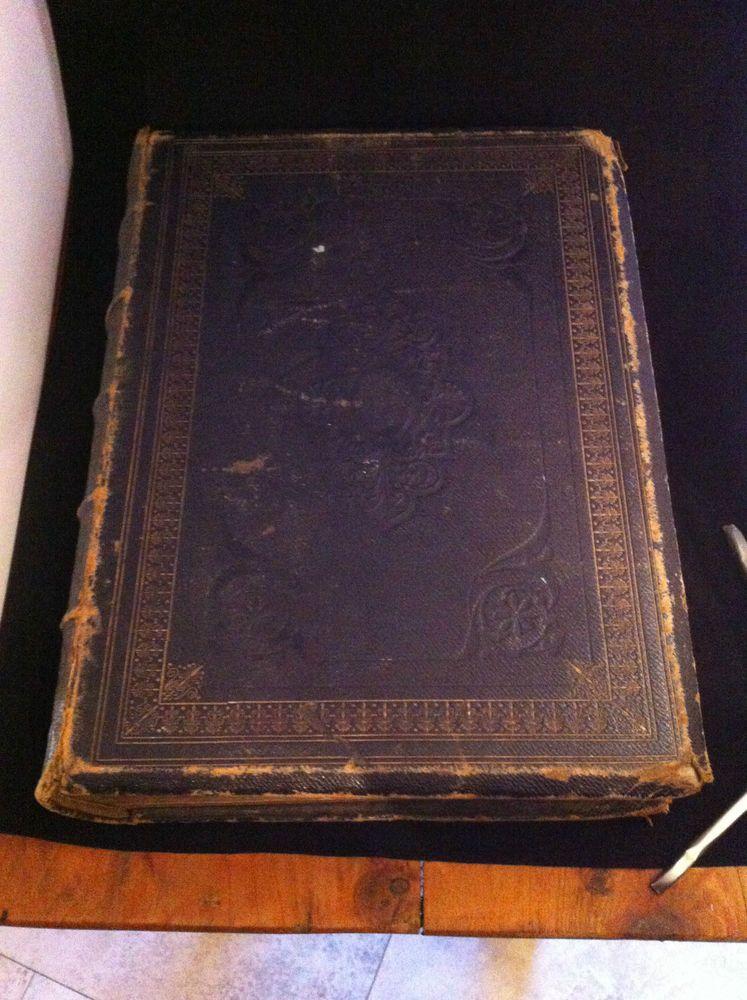 Antique the holy bible folio rev john m farlane london