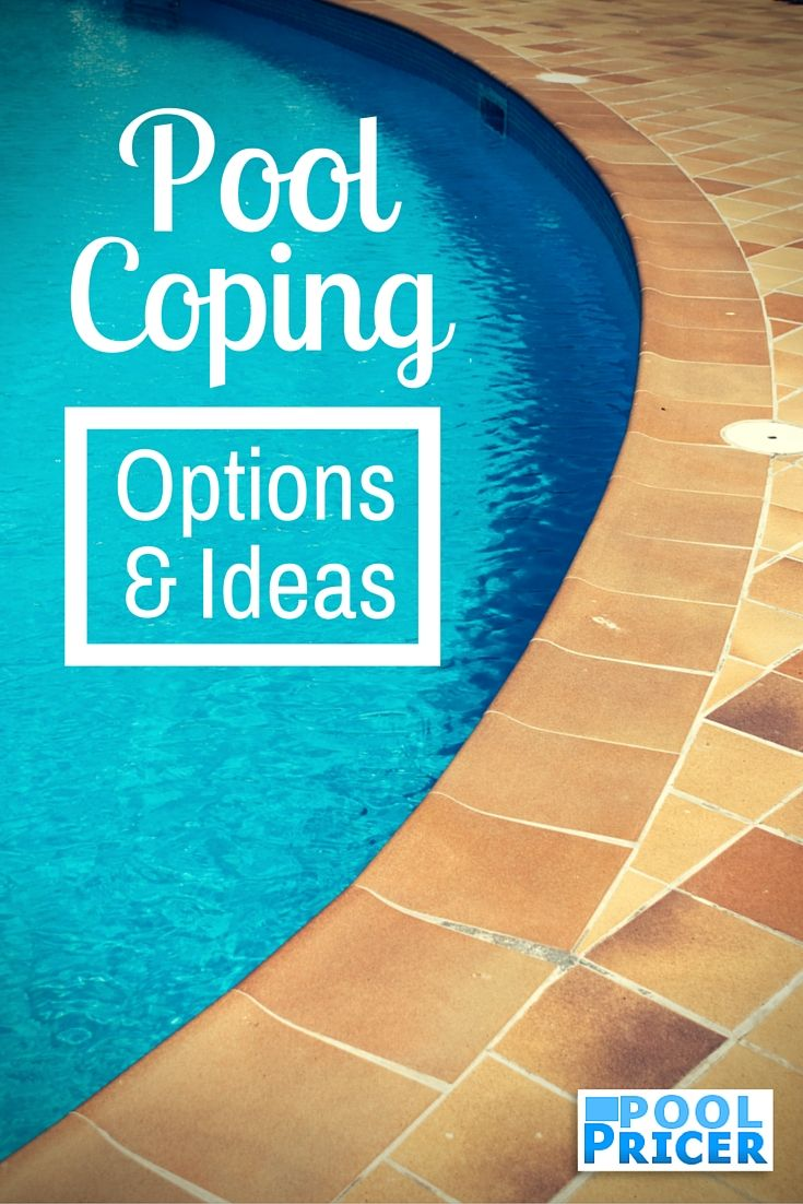 Inground Pool Coping Cap Your Pool Off In Style Pool