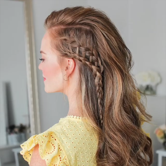 Braided Hairstyle Video In 2020 Braids For Long Hair Braided Hairstyles Hair Braid Videos