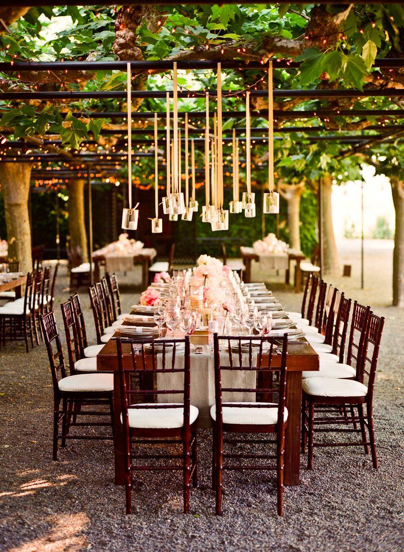 Reception Al Fresco at Beaulieu Garden Photo