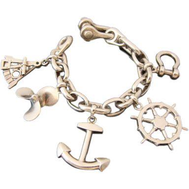 Nautical Charm Bracelet Thumbnail 1