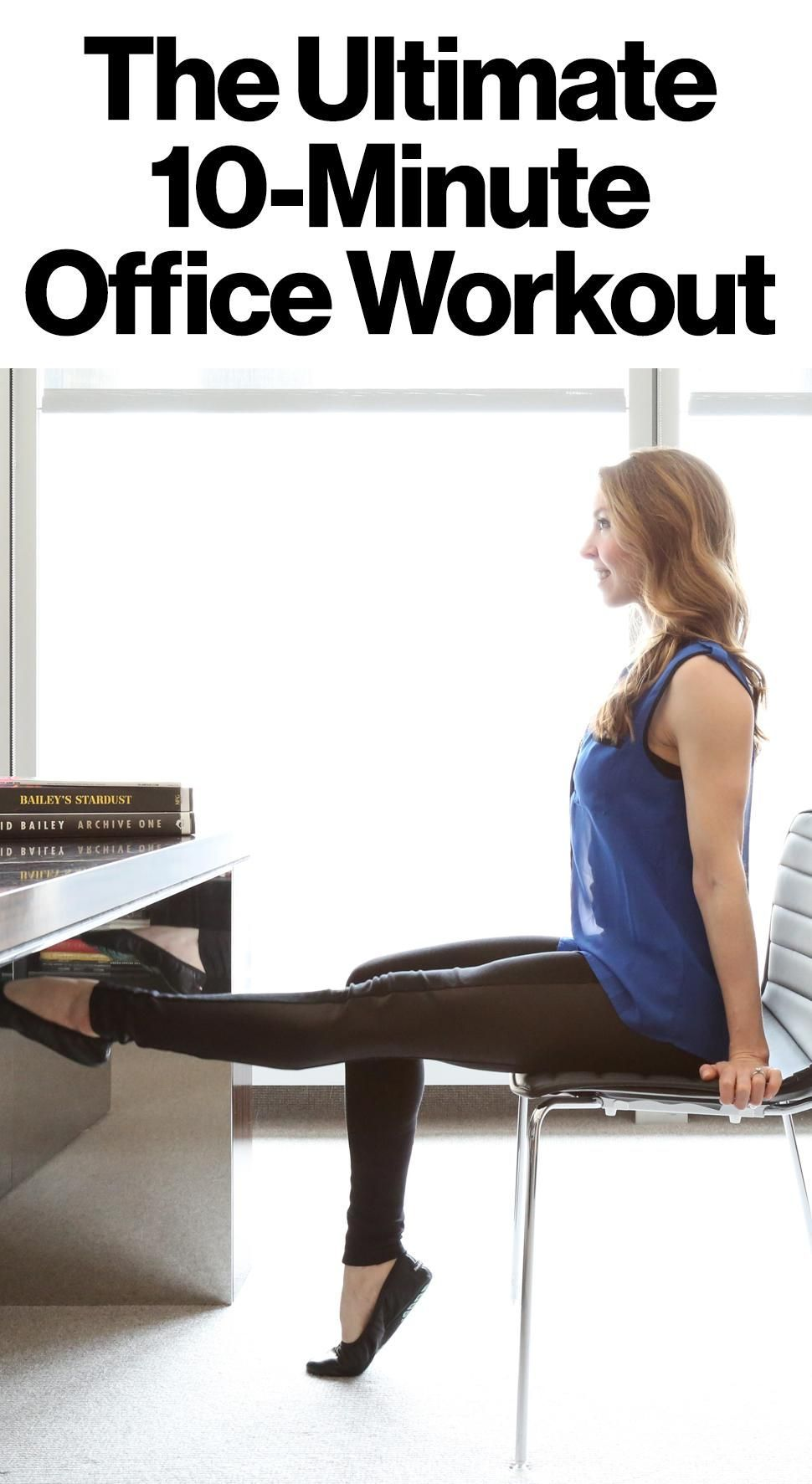 10 easy moves you can do at the office to stay fit #easyfitnesswebsite