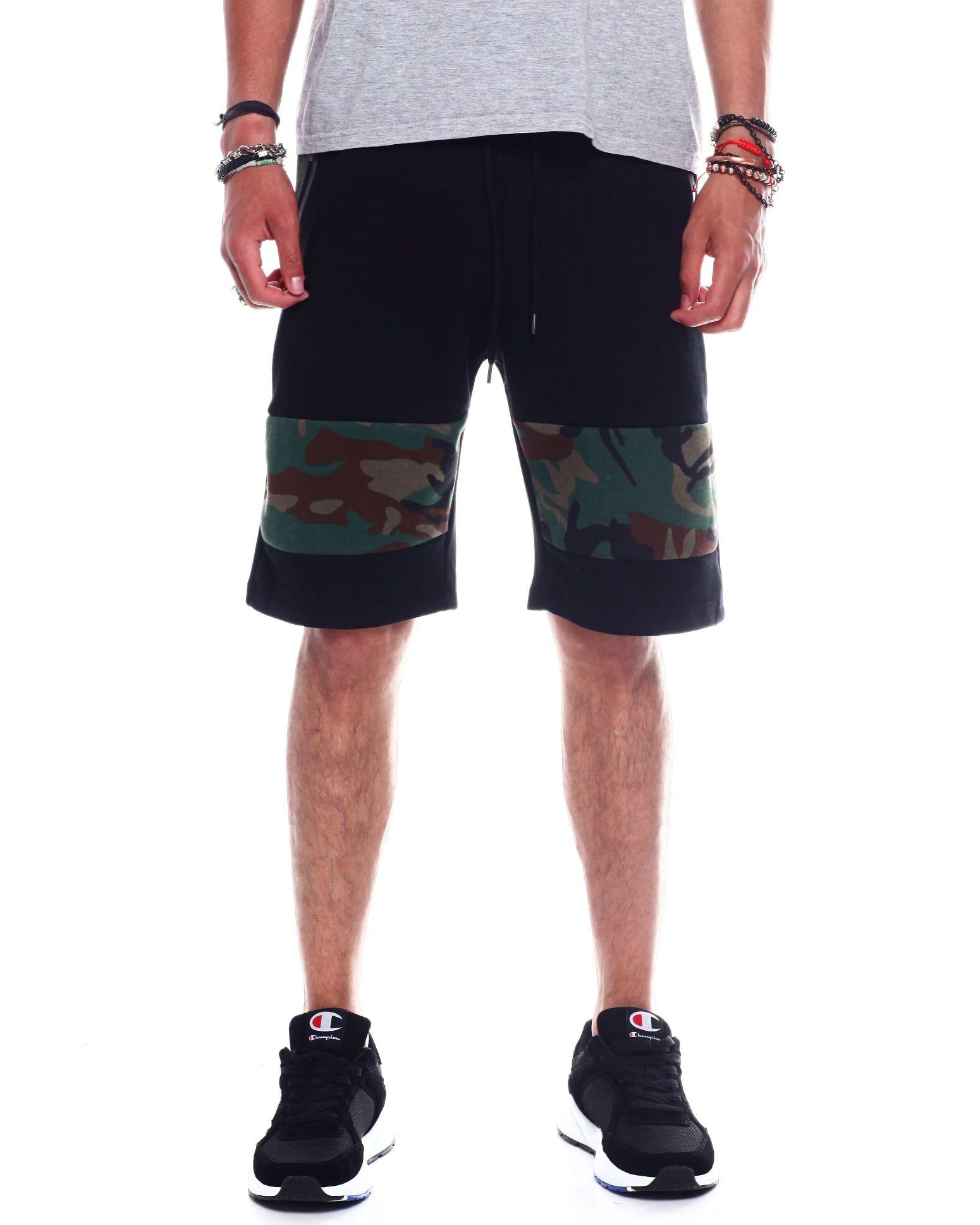 Buy Men's Camo Panel Tech Fleece Short Men's Shorts from