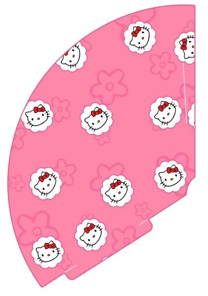 Printable Birthday Cupcake Toppers Hello Kitty Theme