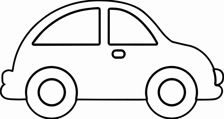 Big And Easy Simple Car Coloring Pages Free Coloring Pages Printable Coloring Pages Only Coloring Pages For Kids Cars Coloring Pages Easy Coloring Pages