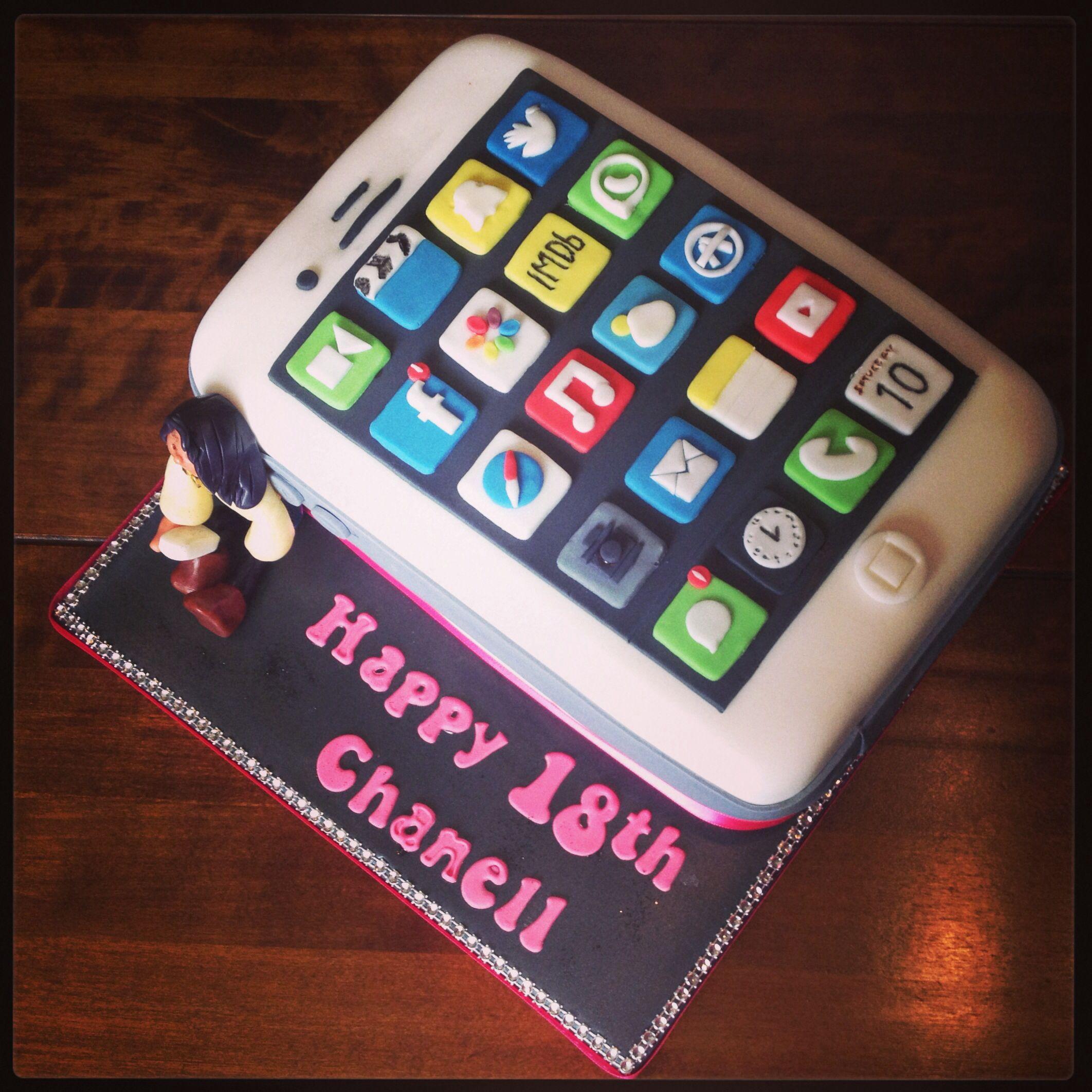 Ascii Art Birthday Cake Iphone : iPhone  selfie  Cake #selfie Pinterest Cake