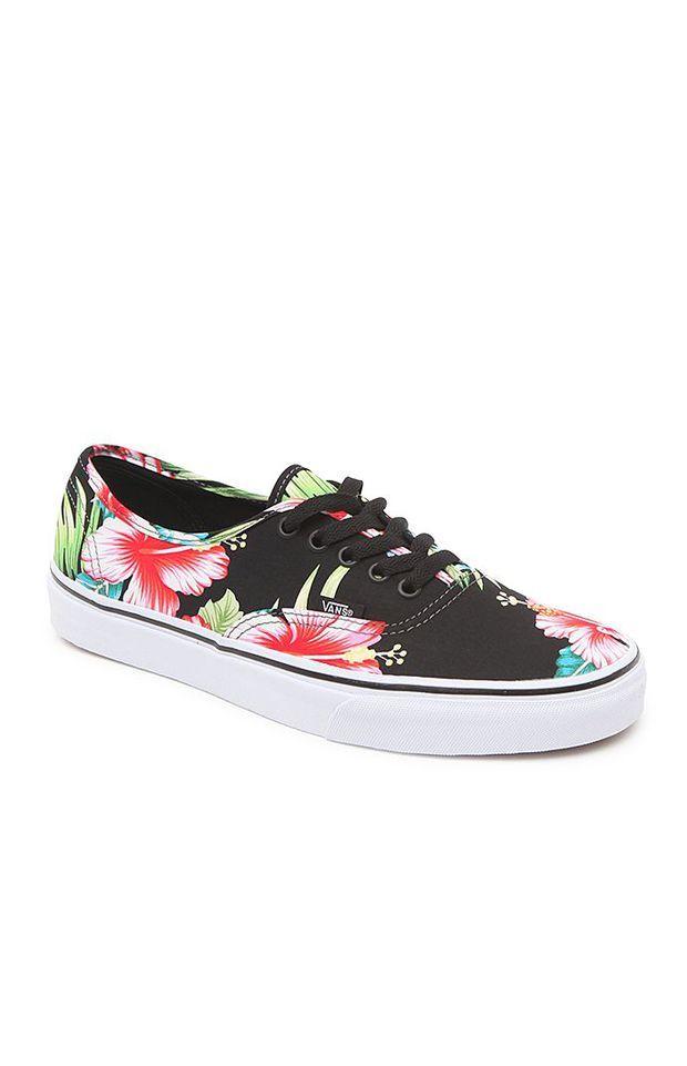 Vans Authentic Hawaiian Floral Shoes