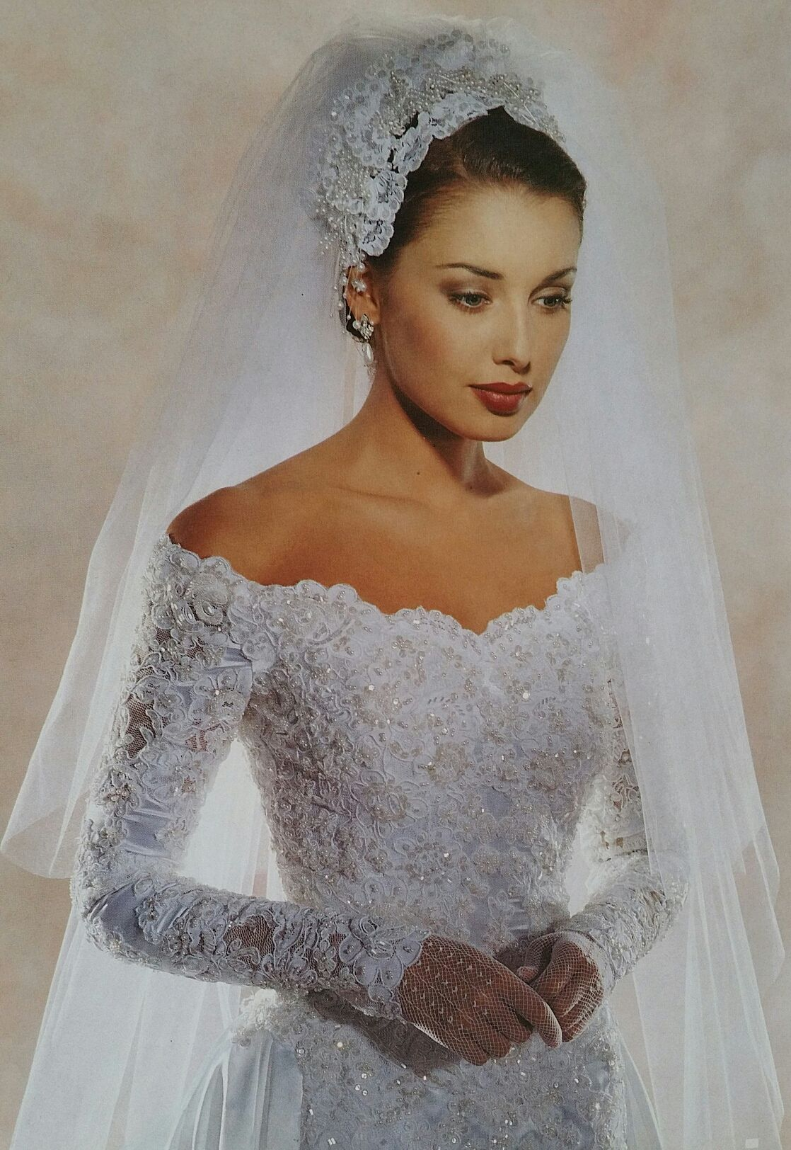 Demetrios close bodice view wedding dresses in