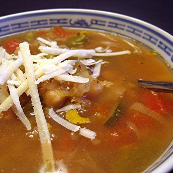Amazing Vegetable Soup (South Beach Diet) #southbeachdietphase1