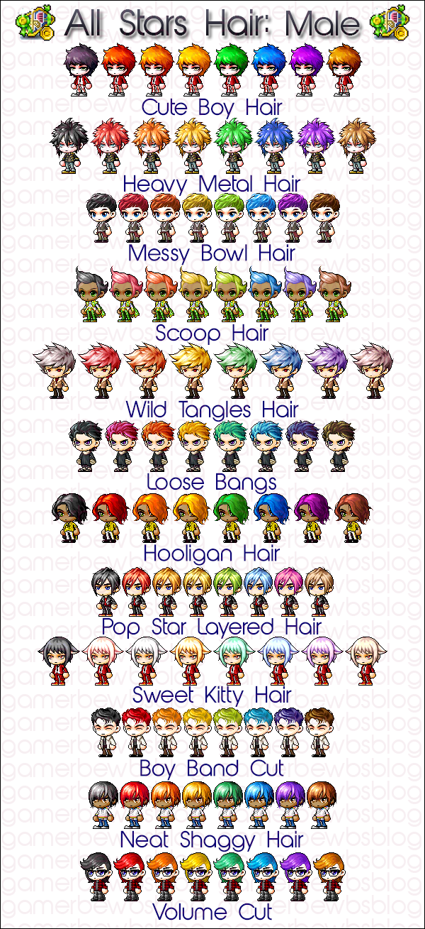 All Stars Female How To Draw Hair Boy Hairstyles Anime Character Design