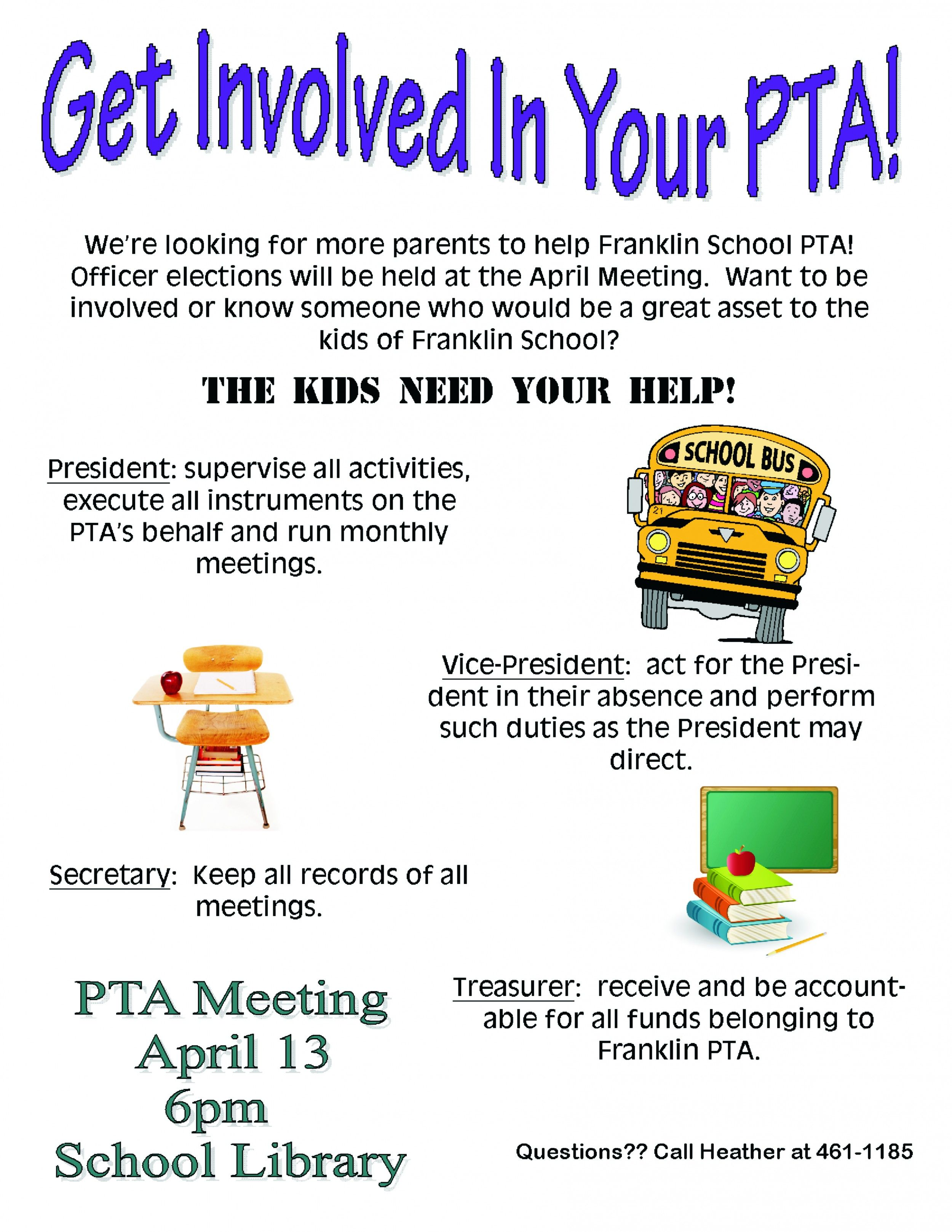 Pto Volunteer Recruitment Flyer Just B Cause Ptg Ideas