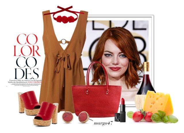 """letni look"" by margo47 ❤ liked on Polyvore featuring Michael Antonio, Kate Spade, NARS Cosmetics and Vjera Vilicnik"