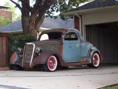 My favorite 1935 ford 3w coupe 427 chevy powered the for 1935 chevy 5 window coupe