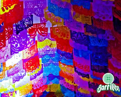 El papel picado es una de las m s festivas y delicadas - Decoraciones de papel ...