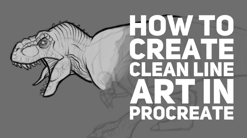 How To Create Clean Line Art In Procreate Procreate Tutorial Procreate Procreate Ipad Art