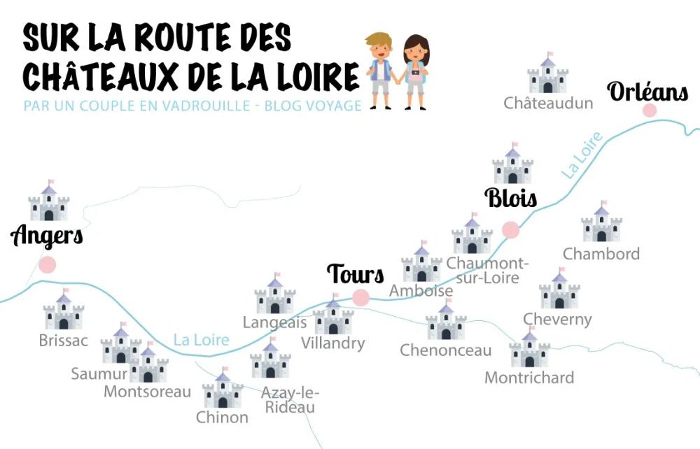 Visite Des Chateaux De La Loire De Chambord A Chenonceau En 2020 Chateau De La Loire Loire Chateau