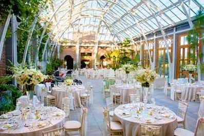 tower hills botanical gardens are the perfect setting for a corporate event cocktail party or wedding reception - Tower Hill Botanic Garden Wedding