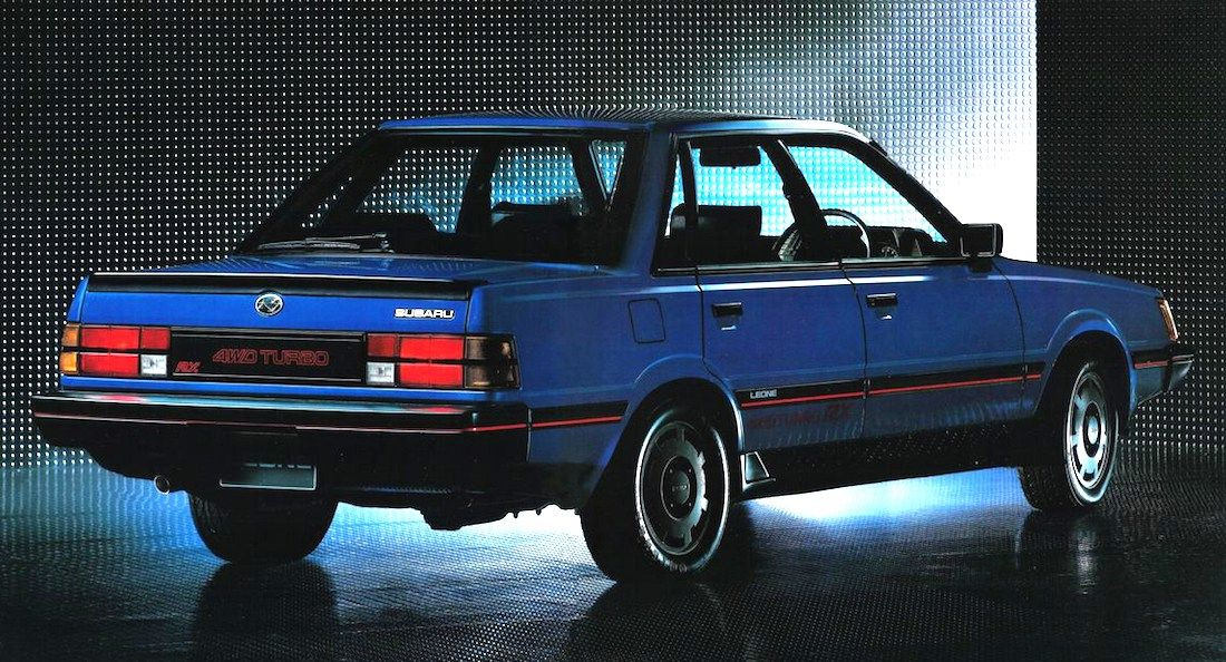 Subaru Leone Sedan Cars Carros Pinterest Subaru