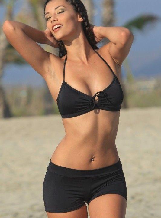 61e47e75e57 High Waisted Women s Boy Swimsuit Short