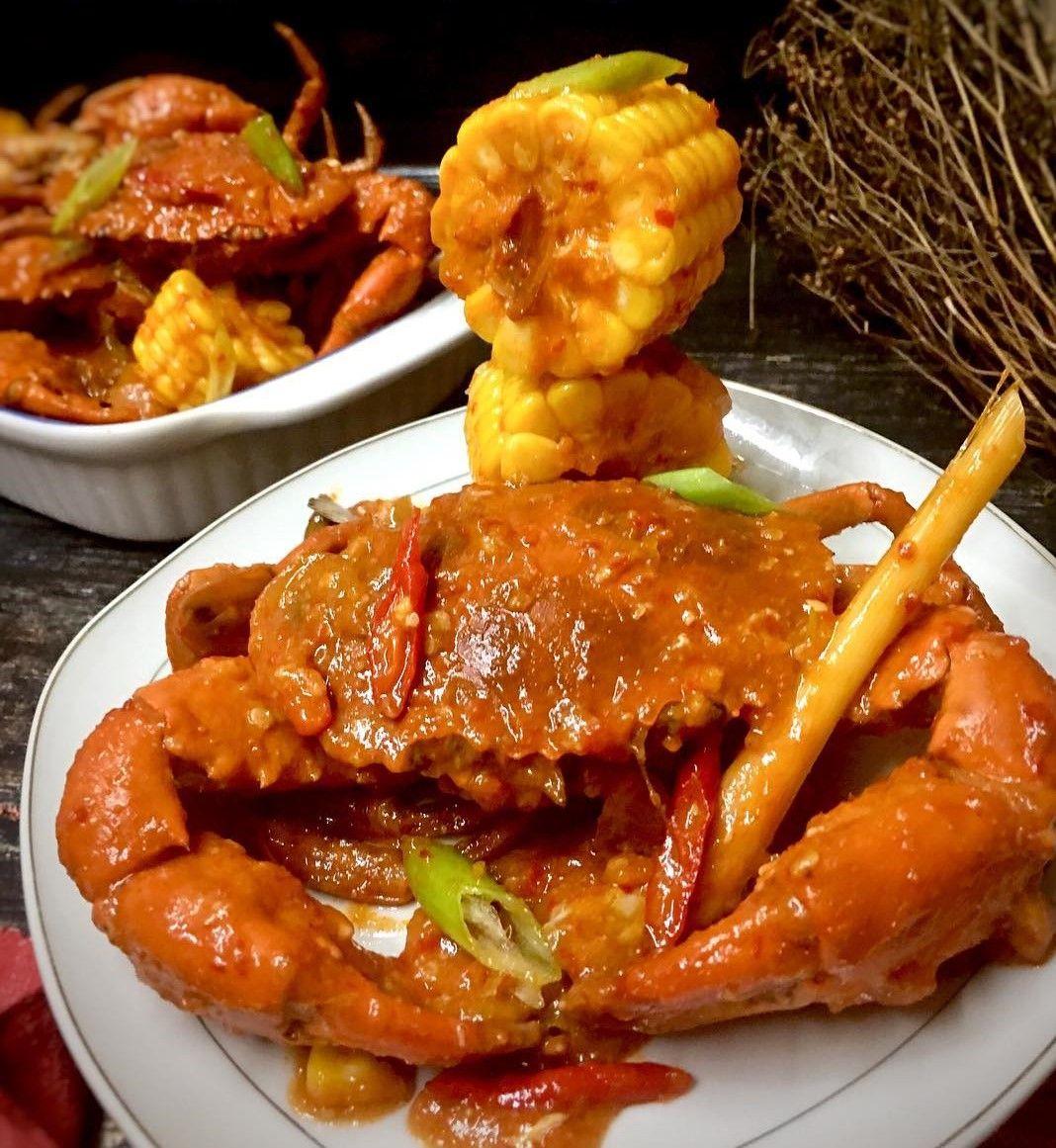 Resep Kepiting Saus Padang Jagung Istimewa Seenak Di Resto Resep Resep Kepiting Resep Seafood Resep Masakan