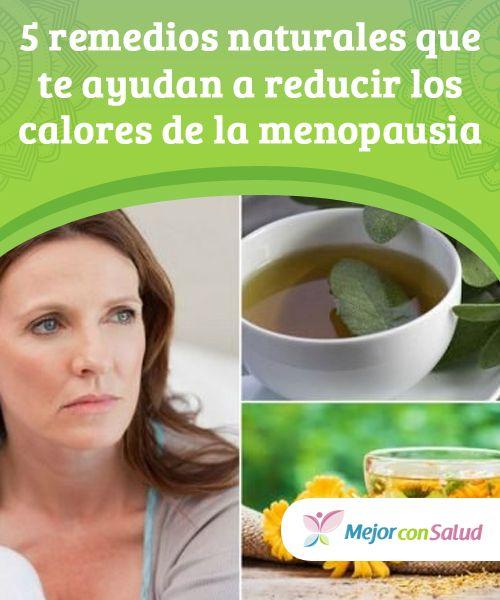 remedios caseros para los calores dela menopausia