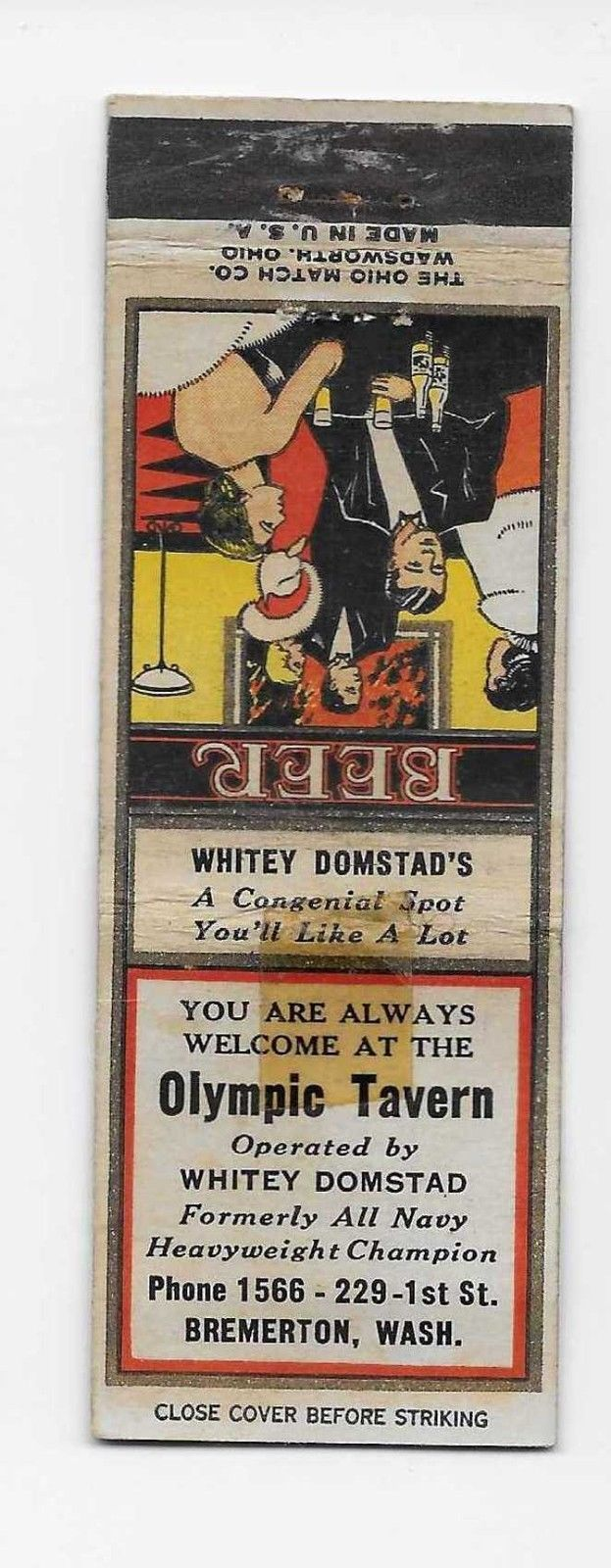 Olympic Tavern , Bremerton WA (With images) Matchbook