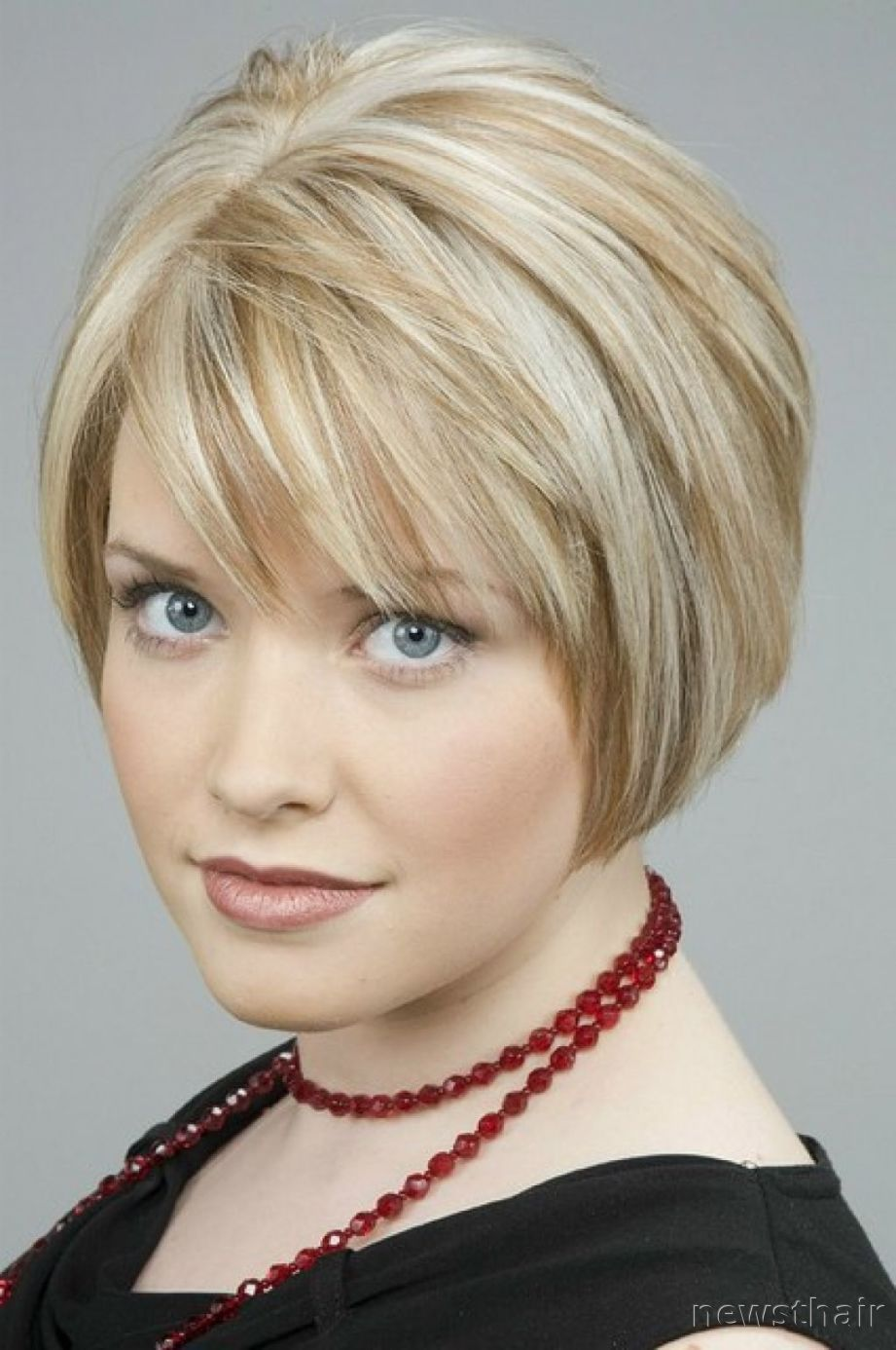 Short Bob For Over 50 Tags Layered Haircuts Hairstyles Fine