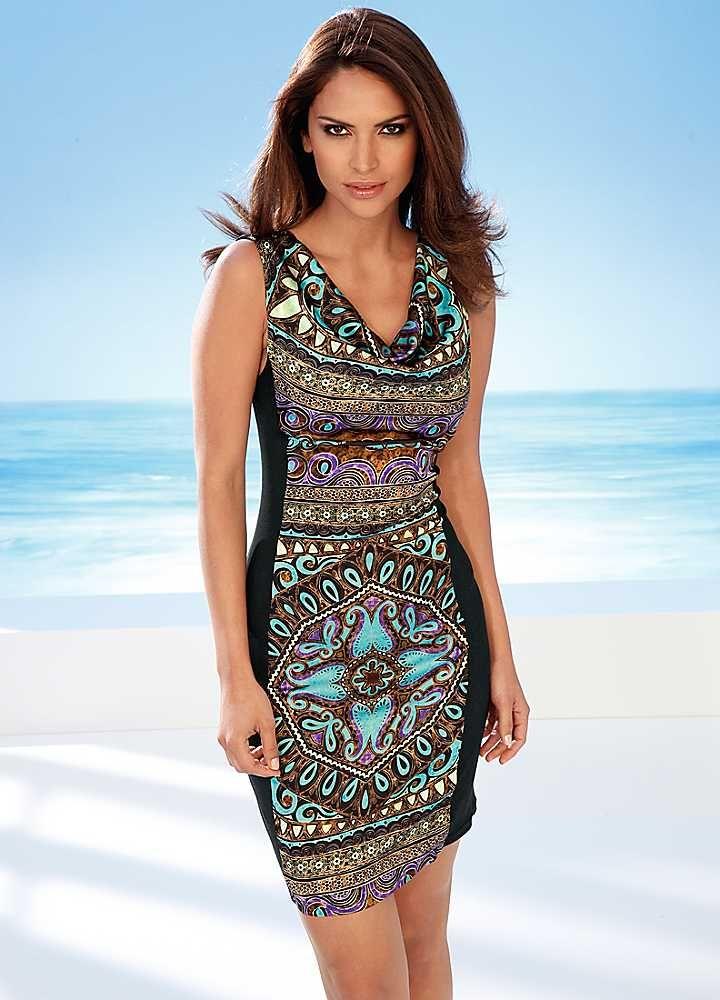 Heine Print Dress | Dresses | Fashion | Kaleidoscope