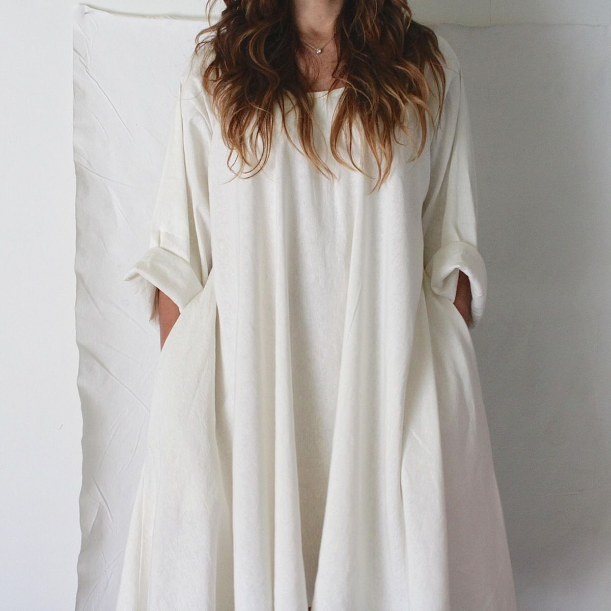 Hemp Silk Twirl Dress, Natural on Garmentory | Hemp fashion, Twirl dress,  Dresses