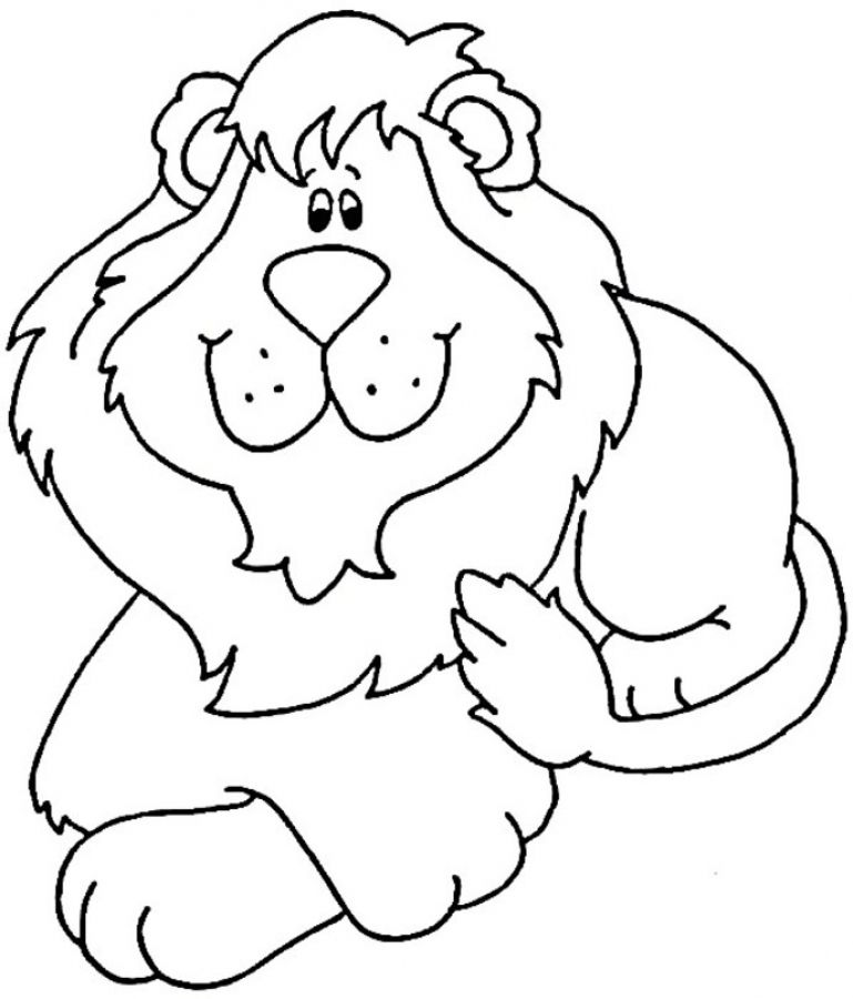 Lion online coloring pages free to print online | characters ...