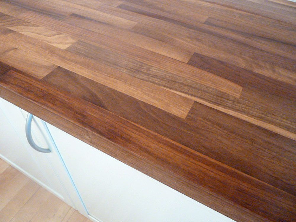 Obi Küchenplatte ~ Flex well arbeitsplatte 150 x 60 x 3 8 cm nussbaum