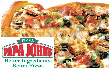 Papa John S Pizza Buy One Get One Free Papa Johns Pizza Good Pizza Papa Johns Menu