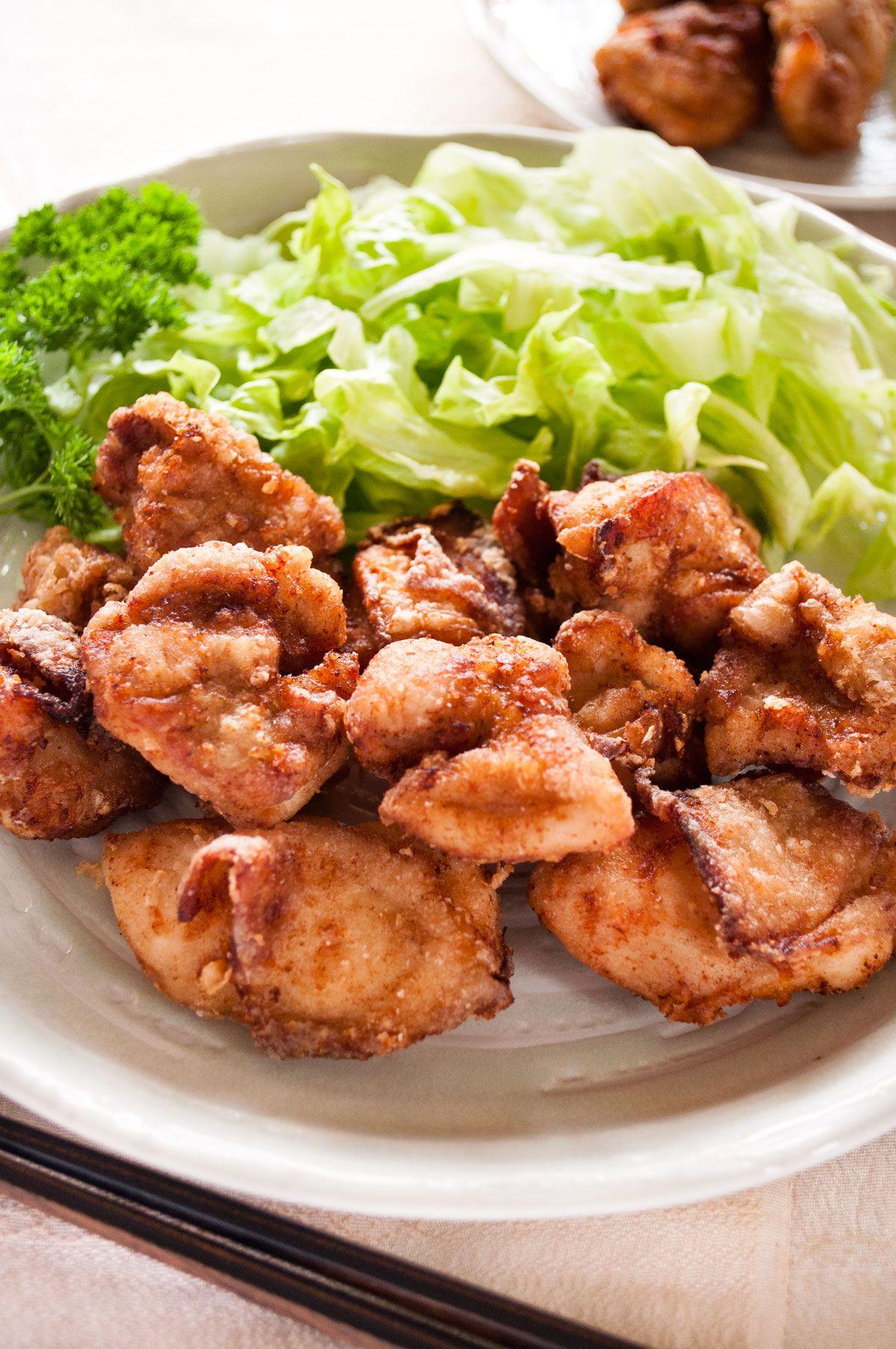Japanese Fried Chicken Karaage Chicken Recipetin Japan Recipe Japanese Fried Chicken Fried Chicken Recipes