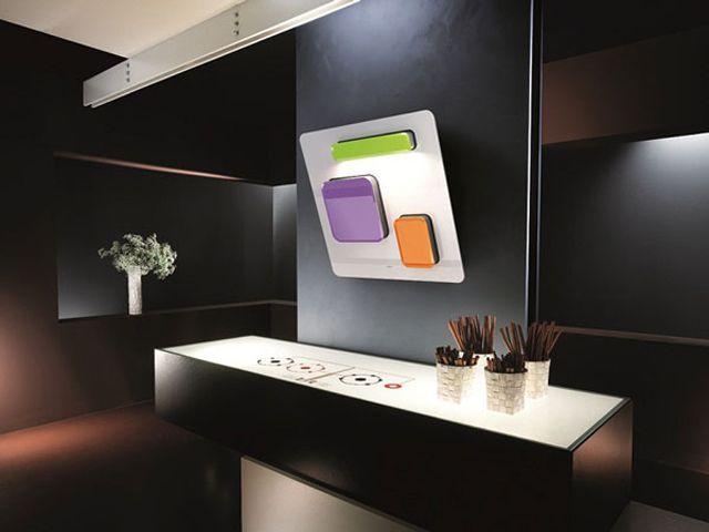 Etonnante hotte de cuisine au design unique signé Elica
