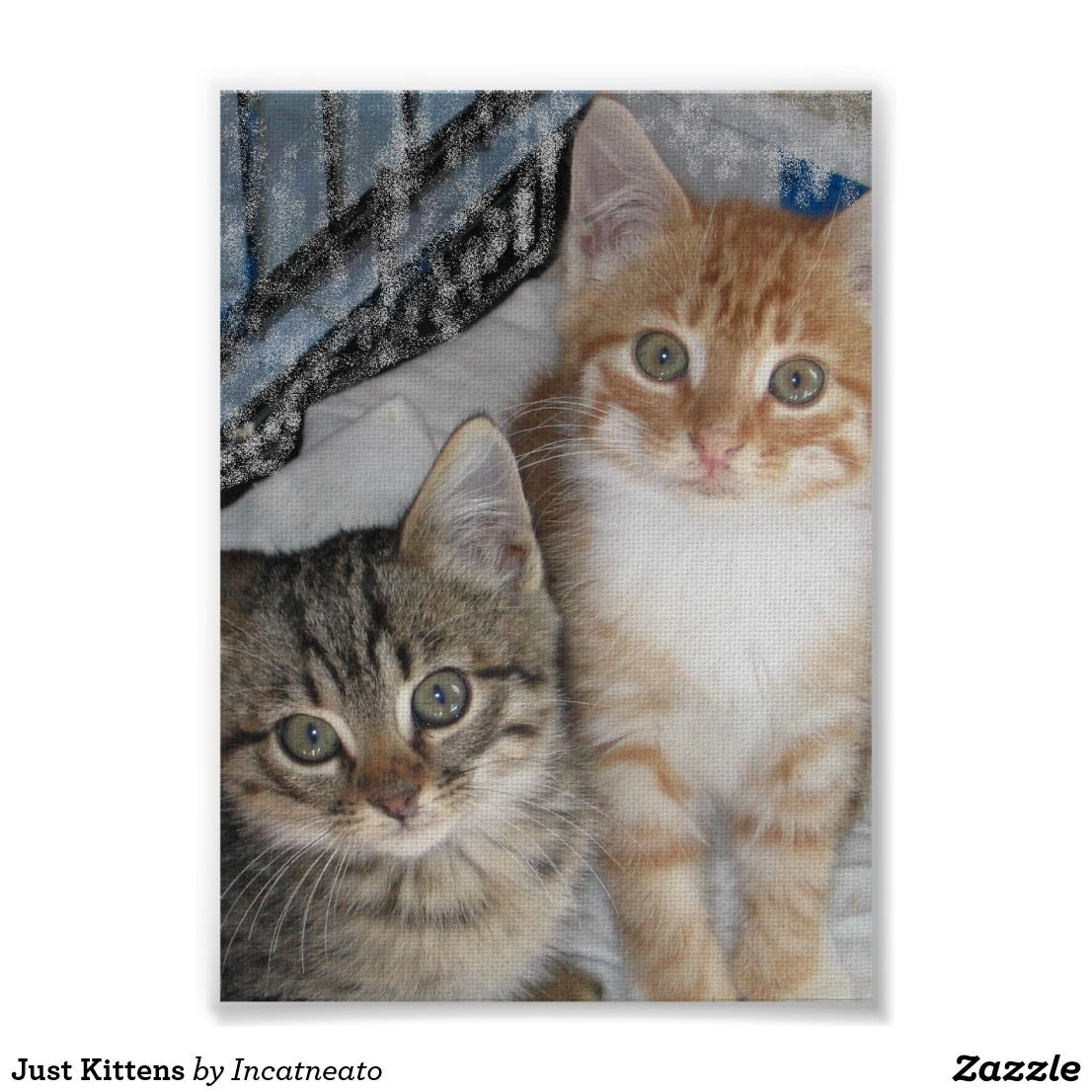 Just Kittens Poster Zazzle Com Kittens Cats And Kittens Poster