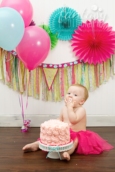 Cake Smash Photographer In Winston Salem Nc