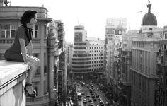 La mejor foto de Madrid que veo hace tiempo... Foto de Alejandro Marcos