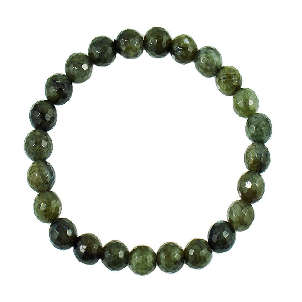 Labradorite Bead Bracelet - Strength and Perseverance