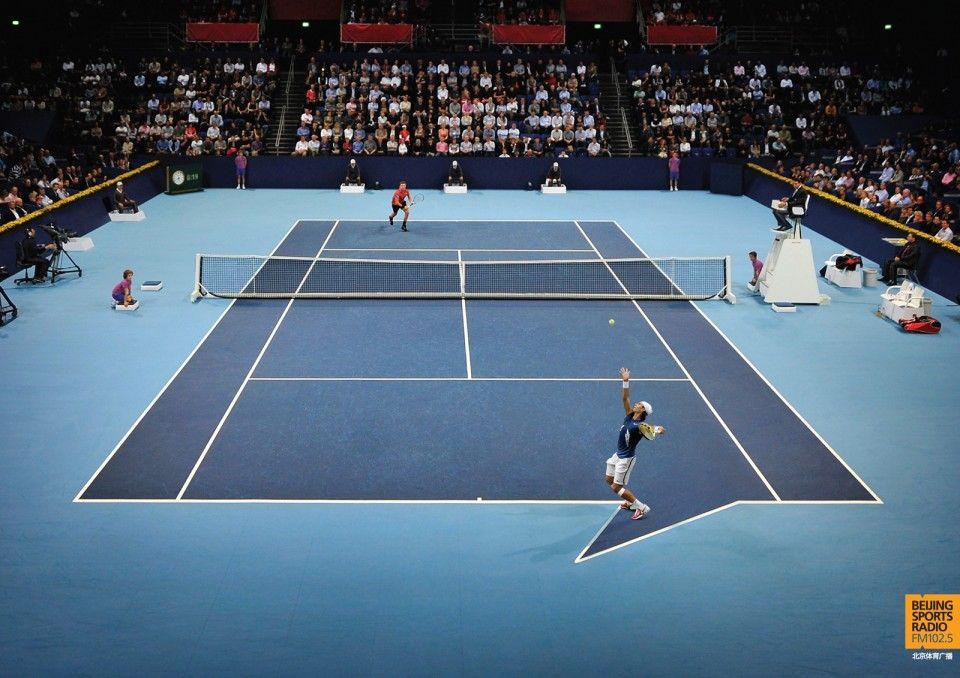 Beijing Sports Radio Sport Radio Radio Advertising Tennis Posters